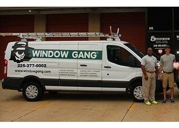Baton Rouge window cleaner Window Gang, Inc.