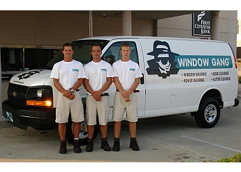 Greensboro window cleaner Window Gang