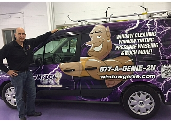Greensboro window cleaner Window Genie