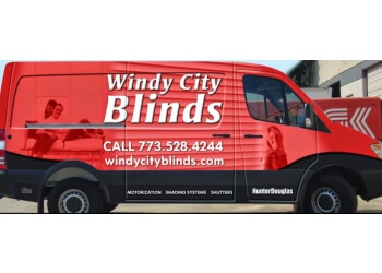 Chicago window treatment store Windy City Blinds