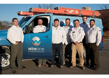 Des Moines electrician WireOne