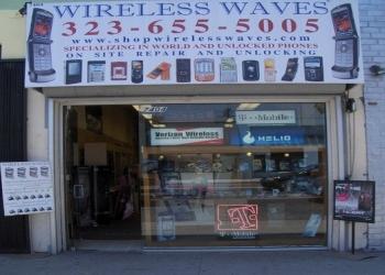 Los Angeles cell phone repair Wireless Waves