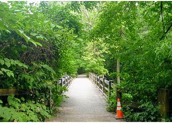 Philadelphia hiking trail Wissahickon Valley Park Trail