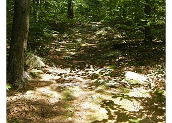 Providence hiking trail Wolf Hill Forest Preserve Trail