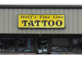 Joliet tattoo shop Wolf's Fine Line Tattoos