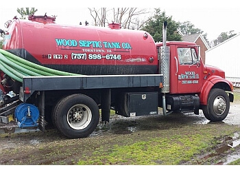 Newport News septic tank service Wood Septic Tank Company