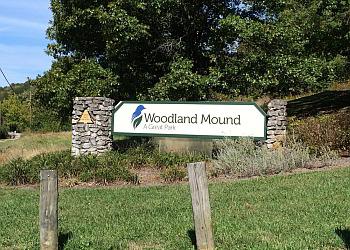 Cincinnati hiking trail Woodland Mound