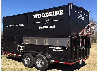Arlington food truck Woodside BBQ