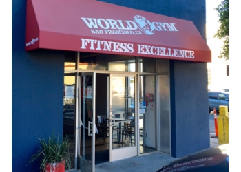 San Francisco gym World Gym