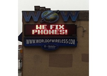 St Paul cell phone repair World of Wireless
