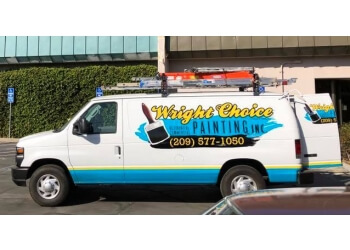 Modesto painter Wright Choice Painting, Inc.