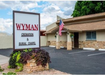 Mesa funeral home Wyman Cremation & Burial Chapel