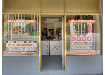 Miami printing service XUMBA PRINTING, INC.