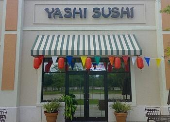 Jacksonville sushi Yashi Sushi