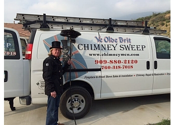 San Bernardino chimney sweep Ye Olde Brit Chimney Sweep