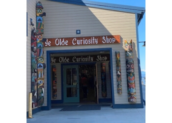 Seattle gift shop Ye Olde Curiosity Shop