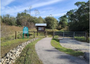 Cape Coral hiking trail Yellow Fever Creek Preserve