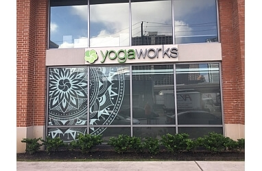 Houston yoga studio YogaWorks
