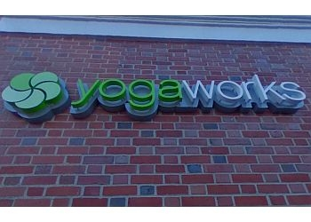 Boston yoga studio YogaWorks Back Bay
