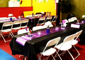 Lubbock event rental company Yolys Party