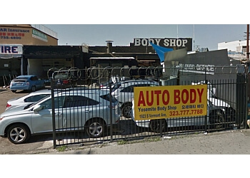 Los Angeles auto body shop Yosemite Auto Body