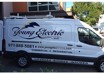 Portland electrician Young Electric LLC