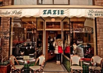 San Francisco french cuisine ZAZIE Restaurant