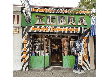 Berkeley tattoo shop Zebra Tattoo & Body Piercing