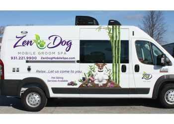 Clarksville pet grooming Zen Dog Mobile Groom Spa