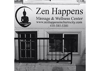 Baltimore massage therapy Zen Happens Massage and Wellness