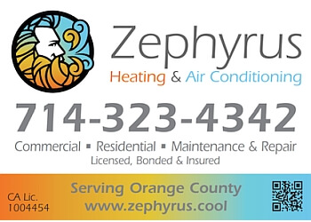 Huntington Beach hvac service Zephyrus Heating & Air Conditioning