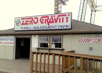 Dallas amusement park Zero Gravity
