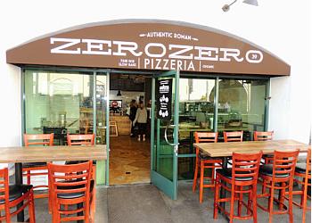 Huntington Beach pizza place ZeroZero39 Pizzeria