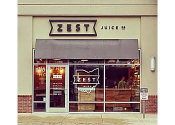 Columbus juice bar Zest juice co