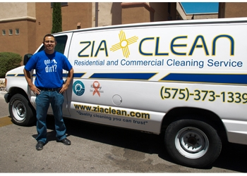 Las Cruces house cleaning service Zia Clean