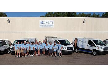 Indianapolis window treatment store Zinga's