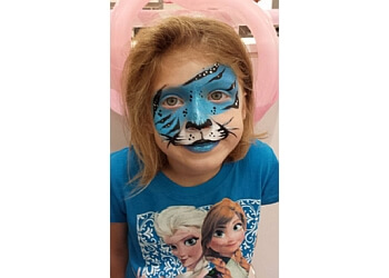Cary face painting Zoe The Clown