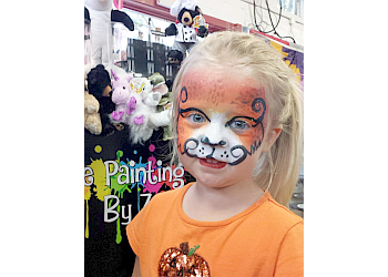 Durham face painting Zoe the Clown