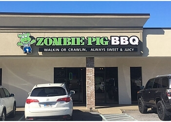 Columbus barbecue restaurant Zombie Pig BBQ