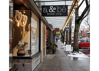 Seattle bridal shop a&bé bridal shop