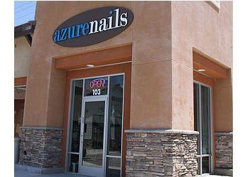 azure nails