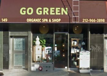 New York spa go green organic spa & shop