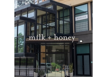 Houston spa milk + honey spa