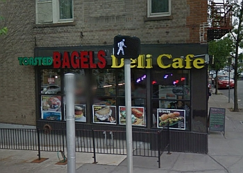 Jersey City bagel shop toasted bagels