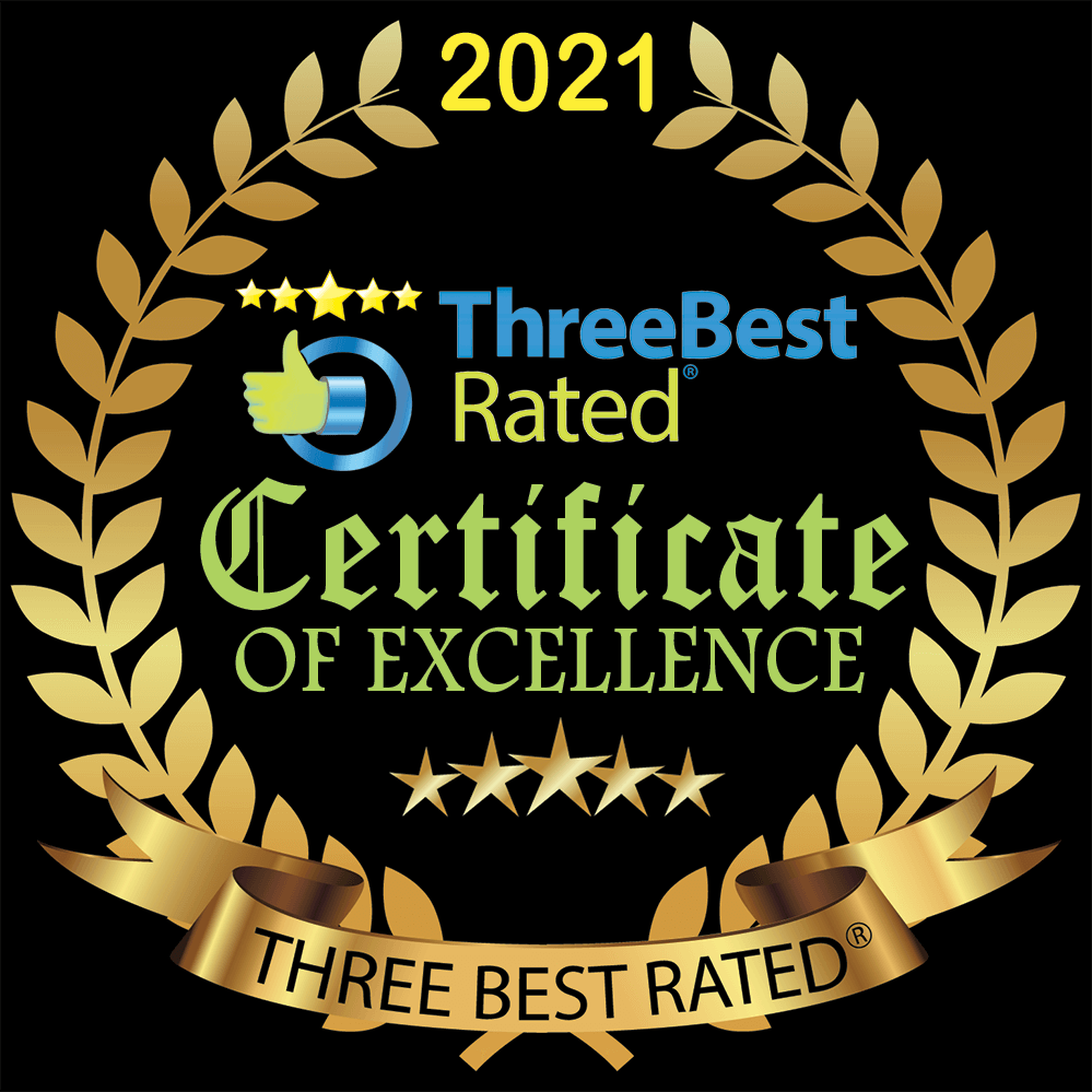 Three Best Rated PNG Gold Badge with transparent background