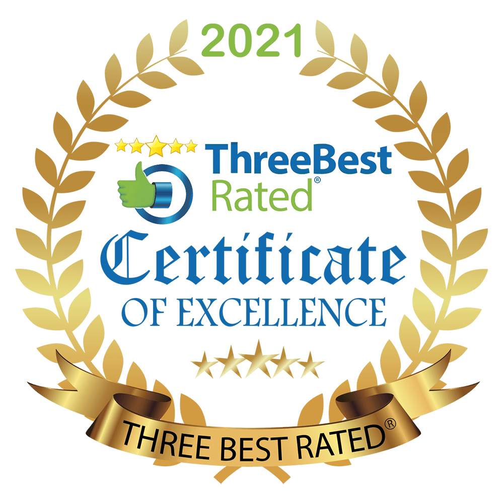 Three Best Rated PNG Gold White Badge with transparent background